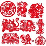 Year-of-the-Monkey-2016-Paper-Cutting-Chinese-Zodiac-Vector